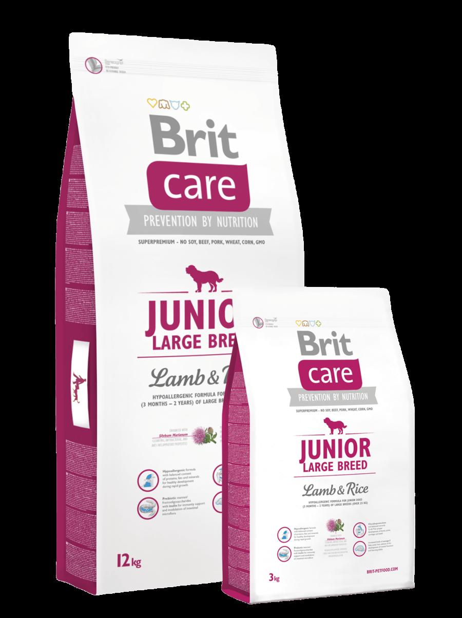 pic Brit Care Junior lambaliha ja riisiga