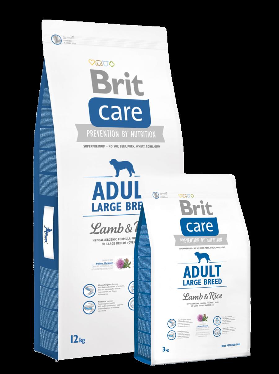 pic Brit Care adult large breed lambaliha ja riisiga