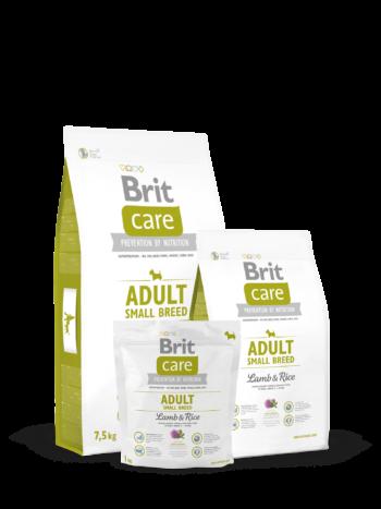 pic Brit Care small breed lambaliha ja riisiga