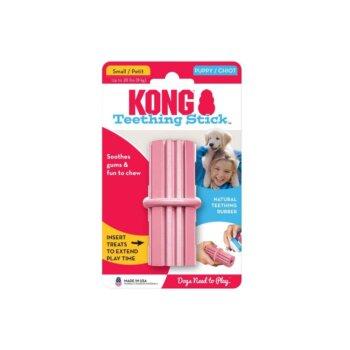 pic kong puppy teething stick mänguasi kutsikatele, roosa