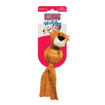 pic kong wubba ballistic friend mänguasi koertele, oranž